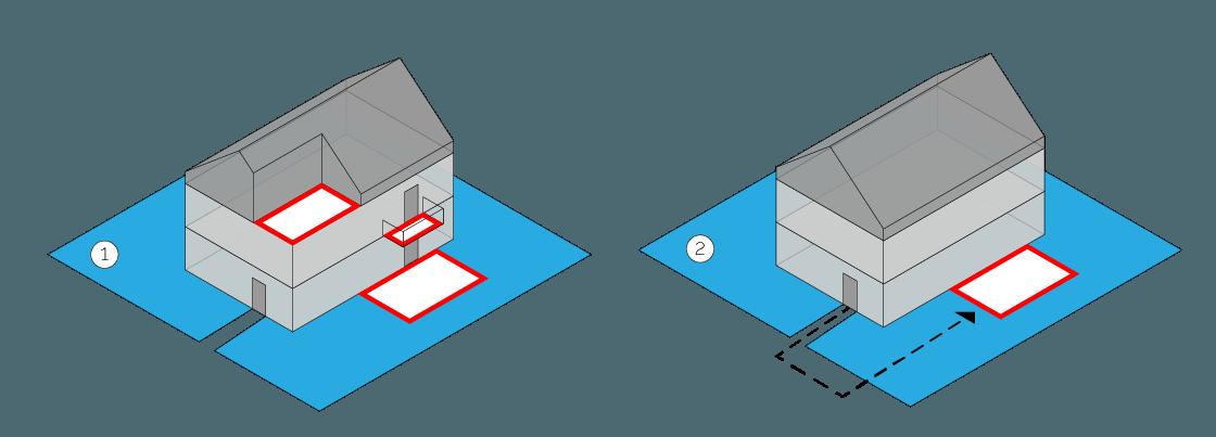 Anrechenbarkeit von Balkonen, Terrassen und Dachterrassen
